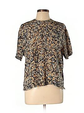 Liz Claiborne Collection Short Sleeve Silk Top Size 10
