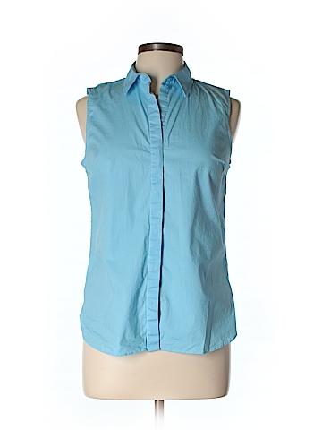 J. Crew Sleeveless Button-Down Shirt Size 9