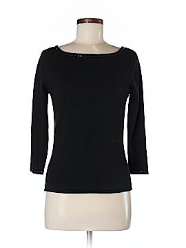 Bloomingdale's 3/4 Sleeve Silk Top Size M
