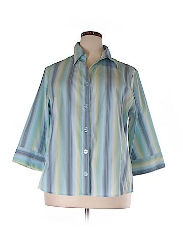 DressBarn 3/4 Sleeve Blouse Size 22/24 (Plus)