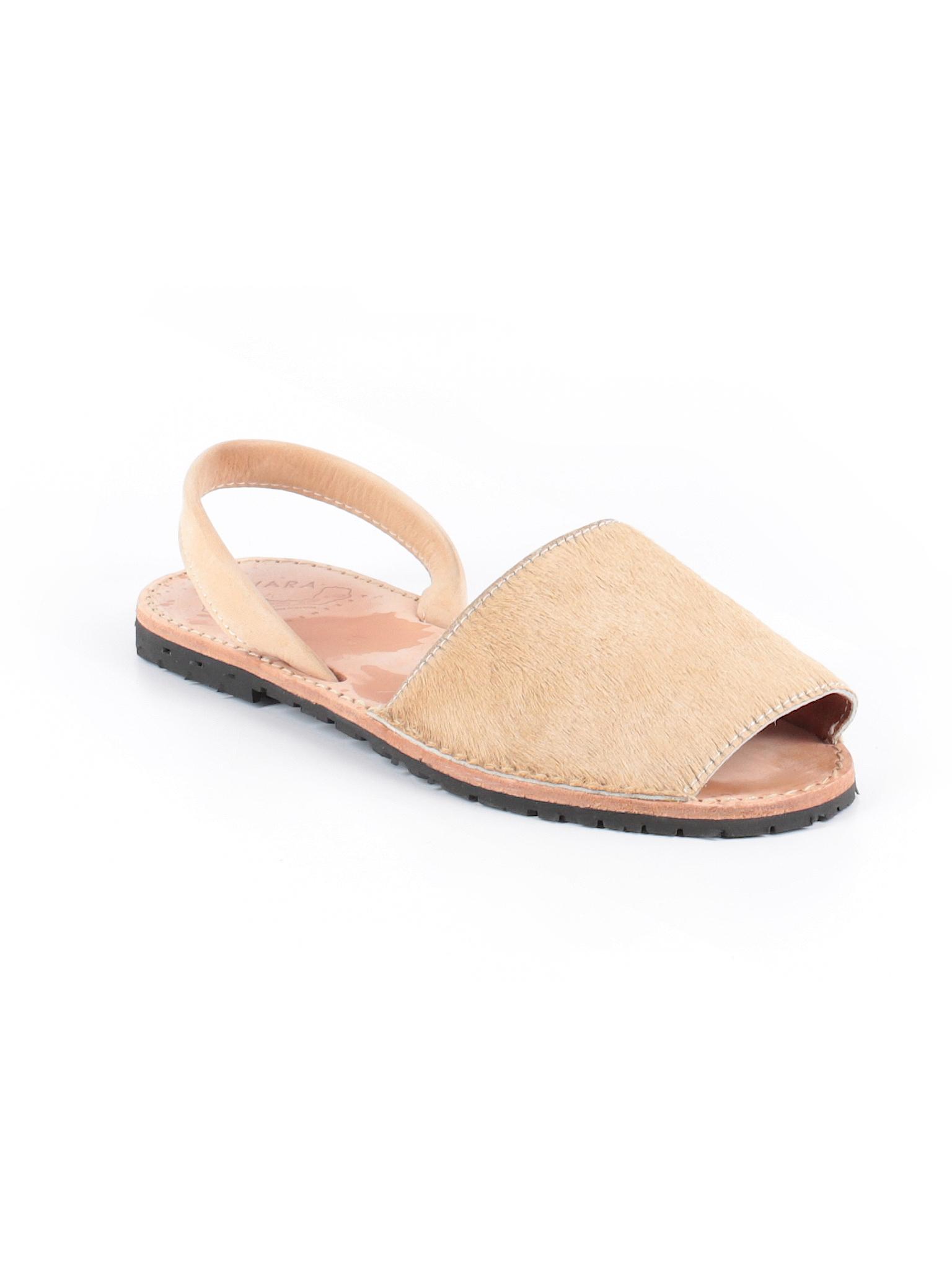 d840ebab237d13 Ishvara Formentera Solid Tan Sandals Size 40 (EU) - 68% off