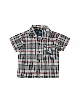 Park Bench Kids Short Sleeve Button-Down Shirt Size 24 mo