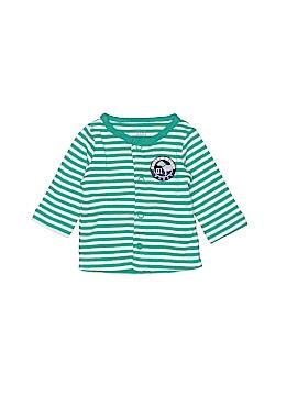 Just One You Long Sleeve Button-Down Shirt Newborn