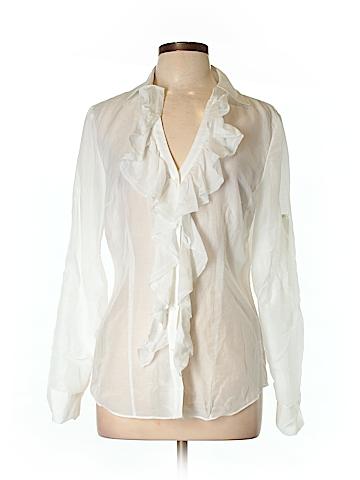 White House Black Market 3/4 Sleeve Blouse Size 12