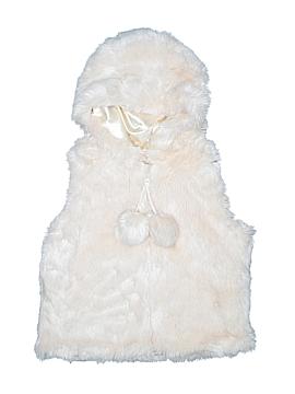 Donna Salyers' Fabulous Furs Faux Fur Vest Size L (Youth)