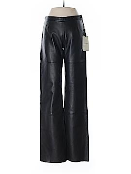 Emporio Armani Faux Leather Pants Size 38 (EU)
