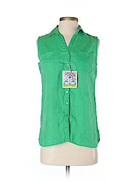 Islander Sleeveless Button-Down Shirt Size XS