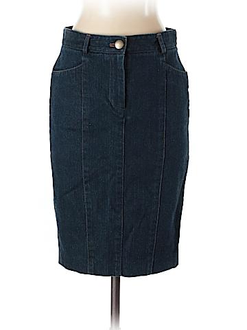 Diane von Furstenberg Denim Skirt Size 0