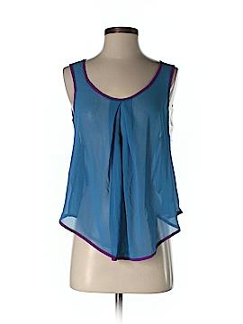 Ya Los Angeles Sleeveless Silk Top Size S