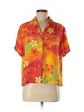 Jams World Short Sleeve Blouse Size M