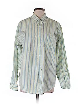 Carbon Long Sleeve Button-Down Shirt Size M