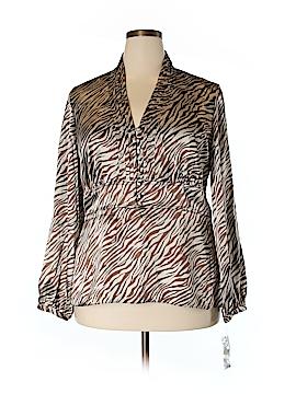 Rafaella Long Sleeve Blouse Size 18W (Plus)