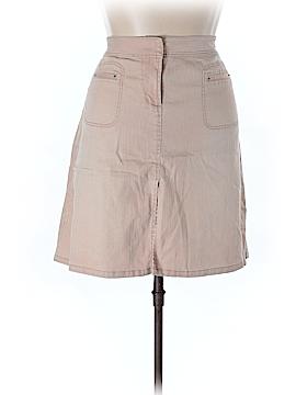 Rocha. John Rocha Denim Skirt Size 18 (Plus)