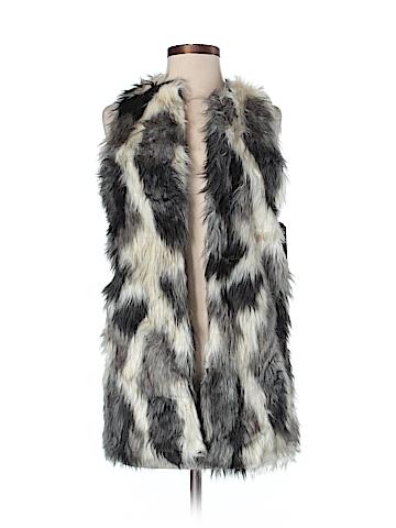 Almost Famous Faux Fur Vest Size XS