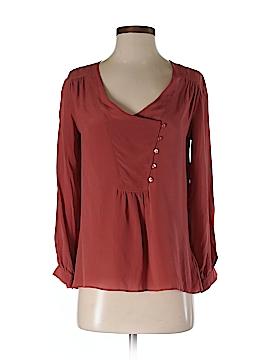 Lie Long Sleeve Silk Top Size 2