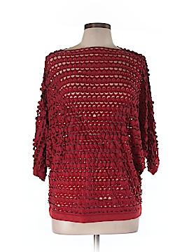 Linea Domani Short Sleeve Top Size L