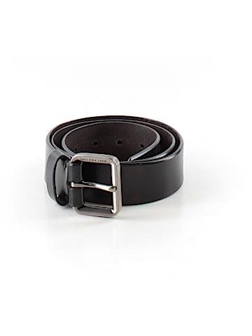 Marc New York Leather Belt 34 Waist