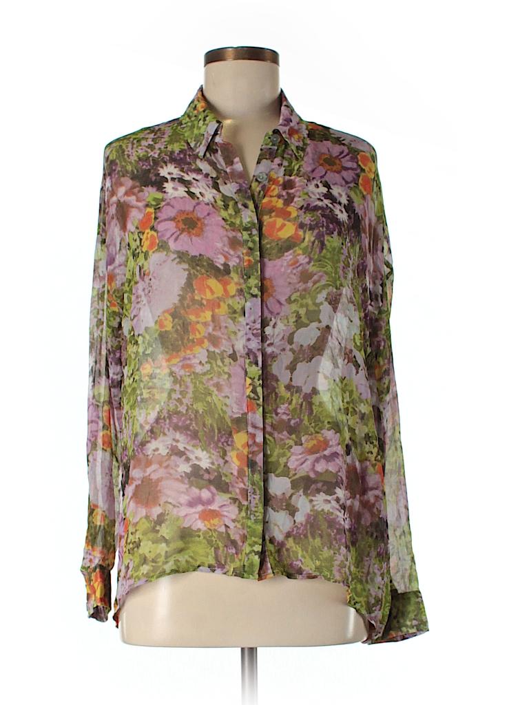 Jack. Women Long Sleeve Blouse Size M