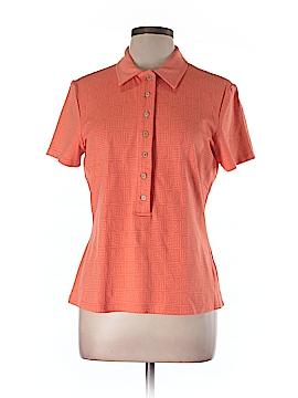 J. McLaughlin Short Sleeve Blouse Size L