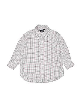 Kitestrings Long Sleeve Button-Down Shirt Size 3T