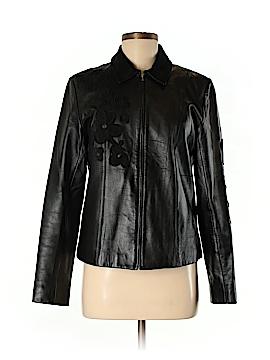 Margaret Godfrey Leather Jacket Size 8