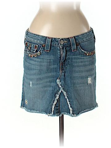 True Religion Denim Skirt 29 Waist