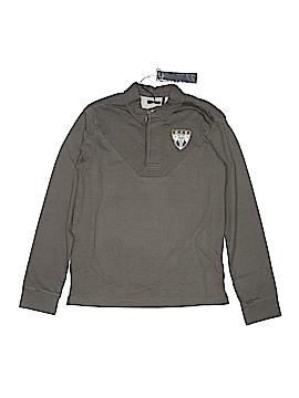 IKKS Long Sleeve Polo Size 12