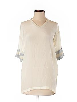 Cynthia Rowley 3/4 Sleeve Silk Top Size S