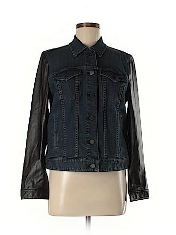 Ann Taylor Denim Jacket Size L (Petite)