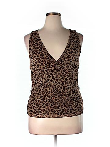 Lauren by Ralph Lauren Sleeveless Silk Top Size 14