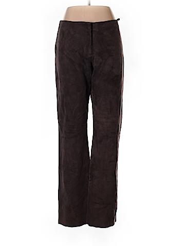 J. Crew Leather Pants Size 12