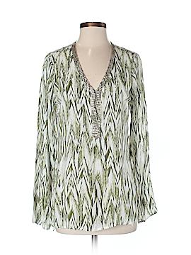 Lisa Rinna Long Sleeve Blouse Size S