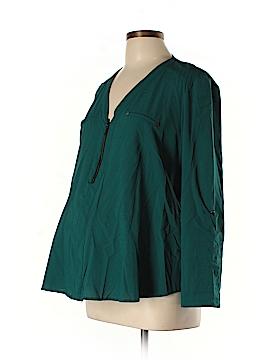 Jules & Jim Long Sleeve Blouse Size L (Maternity)