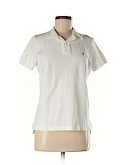 Ralph Lauren Women Short Sleeve Polo Size L