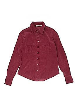 Sunhee Moon Long Sleeve Button-Down Shirt Size 1