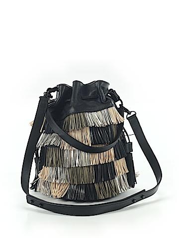 Loeffler Randall Leather Bucket Bag One Size