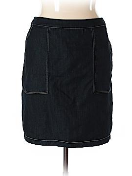 Eloquii Denim Skirt Size 14 (Plus)