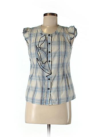 Edme & Esyllte Short Sleeve Button-Down Shirt Size 4