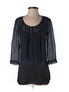Beyond Vintage 3/4 Sleeve Blouse Size XS