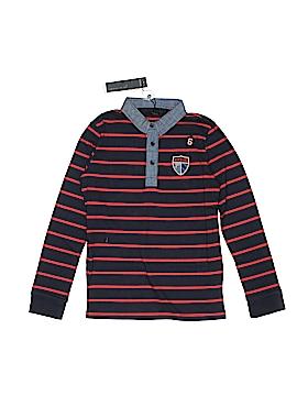 IKKS Long Sleeve Polo Size 10
