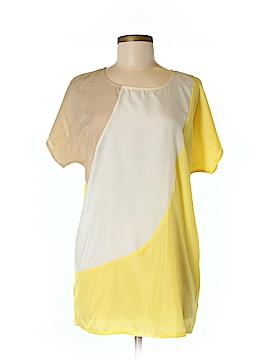 Allegra K Short Sleeve Blouse Size M