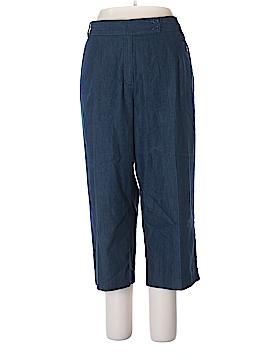 Larry Levine Casual Pants Size 18 (Plus)