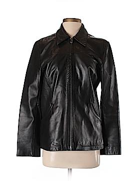 Nine West Faux Leather Jacket Size S