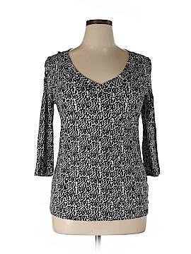 Nicole Miller New York City 3/4 Sleeve T-Shirt Size XL