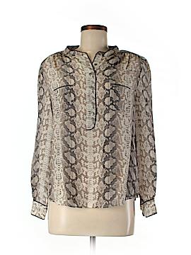 Gerard Darel Long Sleeve Silk Top Size 40 (EU)