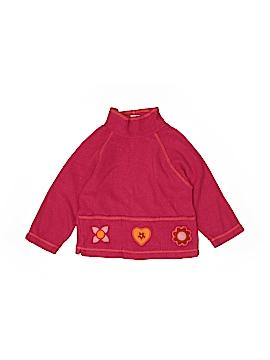 Garnet Hill Fleece Jacket Size 4