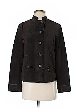 So Blue Sigrid Olsen Leather Jacket Size S