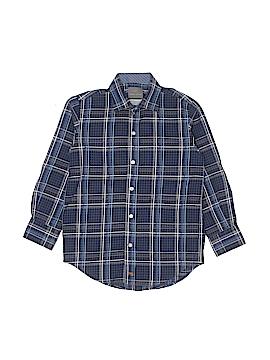 Thomas Dean Long Sleeve Button-Down Shirt Size 6