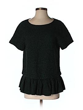 Tibi Short Sleeve Blouse Size S