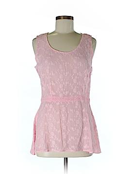 J. Peterman Sleeveless Blouse Size XS